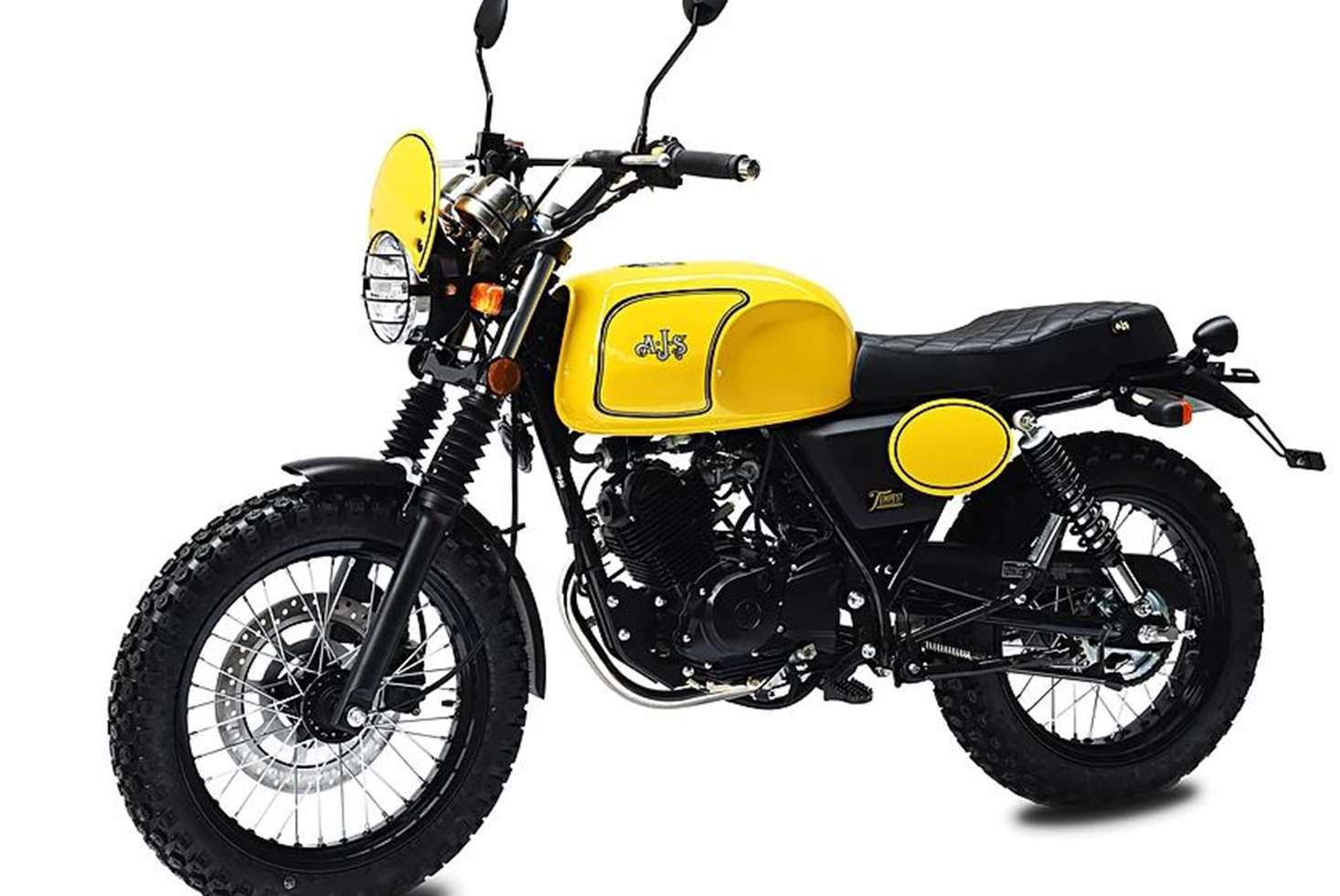 ajs tempest scrambler 125 ajs roadbikes new bikes mph moto. Black Bedroom Furniture Sets. Home Design Ideas